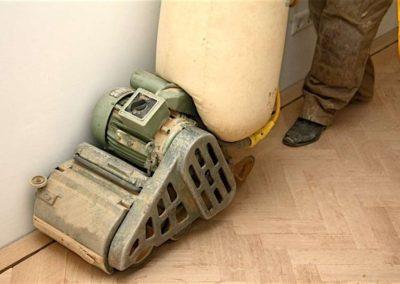Broušení dřevěných podlah 002
