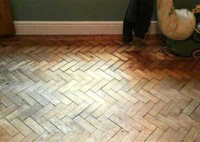 Broušení dřevěných podlah 003