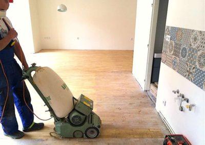 Broušení dřevěných podlah 007