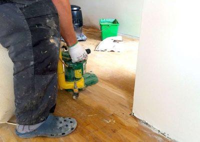 Broušení dřevěných podlah 008