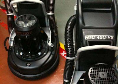 Brusné systémy HTC 001