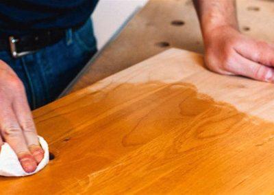 Konzervace dřevěných povrchů 005