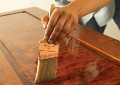 Konzervace dřevěných povrchů 007