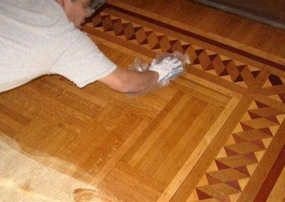 Konzervace dřevěných povrchů 008