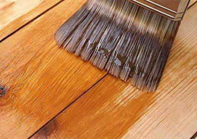 Lakování dřevěných podlah 001