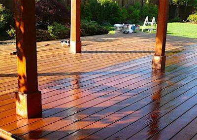 Lakování dřevěných podlah 006