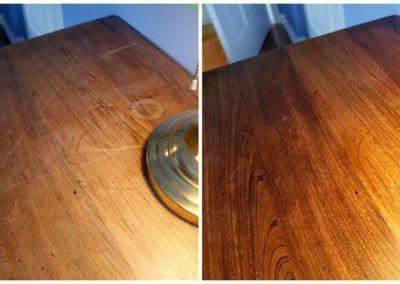 Olejování dřevěných podlah 007