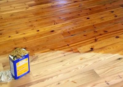 Olejování dřevěných podlah 008