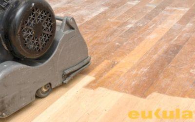 Renovace a broušení dřevěných podlah a parket