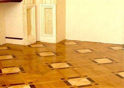 Renovace dřevěných podlah 004
