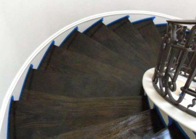 Renovace dřevěných schodů 001