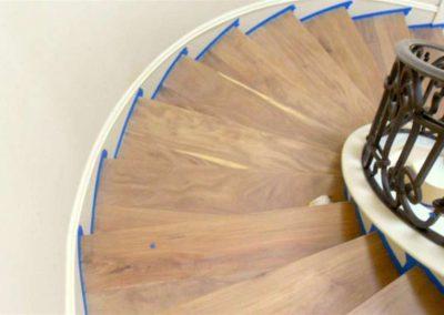 Renovace dřevěných schodů 002