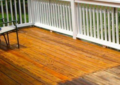 Renovace dřevěných teras 002