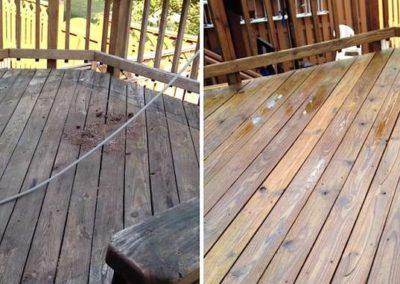Renovace dřevěných teras 003
